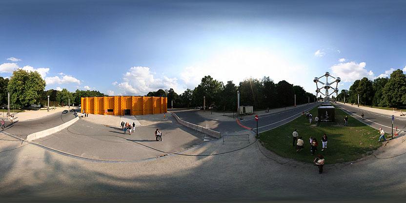 Pavillon du Bonheur Provisoire, Bruxelles