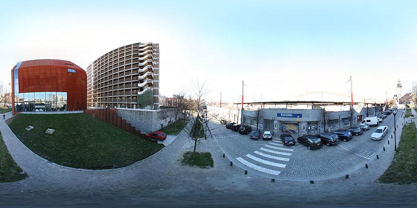 La gare de la Chapelle, Bruxelles