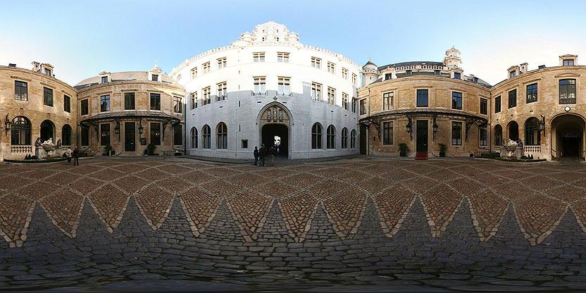 LA cour de la maison communale de Bruxelles (Grand-Place)