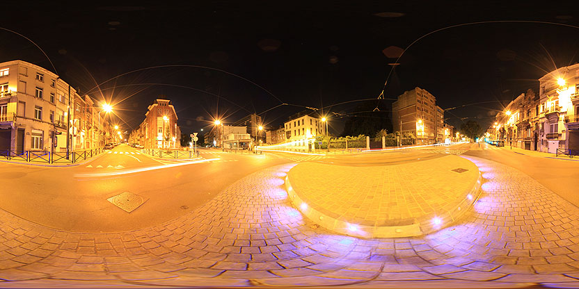 Avenue d\'uccle croisement avec l\'avenue Zaman et la chaussée de Bruxelles, Bruxelles