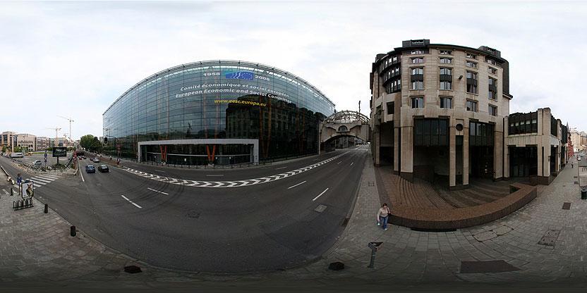 Le Comité économique et social européen (CESE),Rue Belliard, Bruxelles