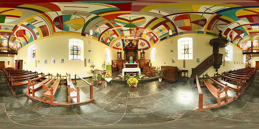 Eglise de Laforêt près de Vresse sur Semois