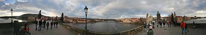 Le Pont Charles, le plus ancien pont de Prague